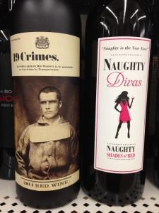 19 Crimes and Naughty Divas...